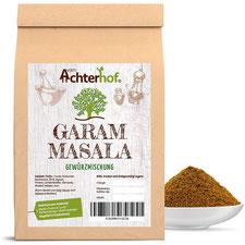 Garam Masala 250g Gewürzmischung Gewürz indische Köstlichkeit vom Achterhof