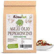 Aglio Olio e Peperoncino 250g Gewürz Gewürzmischung grob scharf Spaghetti al Olio