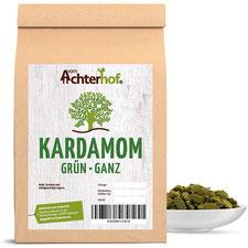 Kardamom grün ganz 100g Kardamon Premiumqualität natürlich vom Achterhof