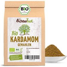 Bio Kardamom grün gemahlen 100g Kardamompulver Premiumqualität natürlich vom Achterhof