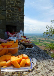 Italien, Toskana, Urlaub, Radreisen, Velotraum, Radfahren, Oicknick, italienische Köstlichkeiten, itelienisches Essen
