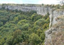 La falaise de Saint-Romain
