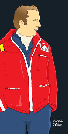 Niki Lauda by Muneta & Cerracín