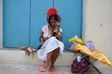Fumeuse de cigare à la Havane