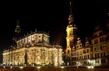 Dresdner Trinitatis Kathedrale und Hermannsturm