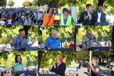 """Sonntagsdemonstrationen für ein menschlicheres Fremden- und Asylrecht  """"Sonntagsdemo Bregenz-Hafen am 15.09.2019 Bilder:Gerhard Rüdisser"""