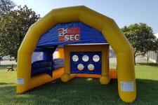 Gioco Gonfiabile In Gol, Inflatable Soccer Game, Gonfiabili Sportivi