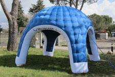 Stand Gonfiabile Igloo, Gonfiabili Pubblicitari, Gonfiabile, Inflatable Igloo Tent