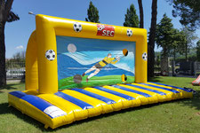 Porta da Calcio Gonfiabile, Inflatable Football Game, Gonfiabili Sportivi