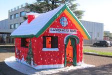 Casetta Di Natale Gonfiabile : Stand gonfiabili gonfiabili pubblicitari gonfiabili sportivi e