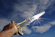 Ius gladii, Das Schwertrecht (Symbolfoto)