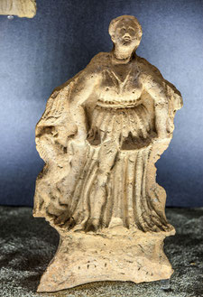 Schiavi d'Abruzzo, Museo Archeologico. Statuetta votiva