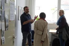 Atelierwochenende 2021, Atelier Jochen Schneider, Foto: Antonia Richter (gatonia.de)