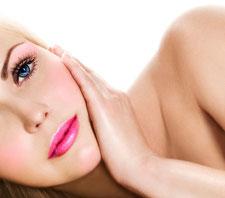 Complete gezichtsbehandeling voor de vrouw