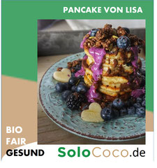 Rezept Apfel Pancake mit SoloCoco Kokosöl