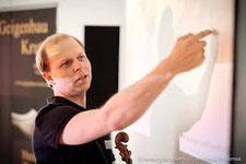 Cellist und Geigenbauer Tobias Krutz