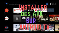 Installer des apk android sur Android TV