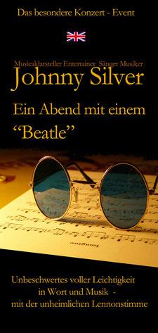 """Johnny Silver """"Ein Abend mit einem Beatle"""""""