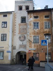 Bild: Rienztor in Bruneck