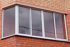 Остекление лоджий и балконов алюминиевым профилем