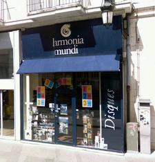 Harmonia Mundi rue Jeanne d'Arc à Orléans (avant fermeture en 2013)