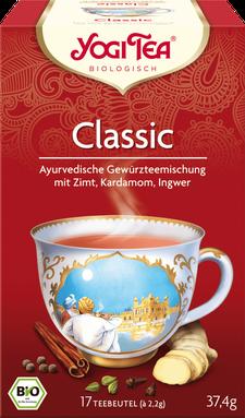 Yogi Tea Classic Bio - Empfehlung Der Genuss dieses köstlichen Tees wärmt unsere Seele - Ayurvedische Tee
