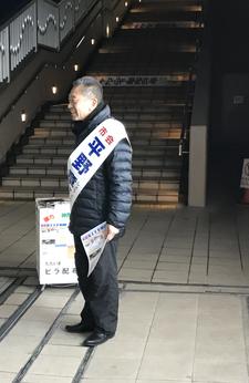 4月2日 JR舞子駅北側 19時