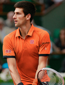 UNIQLO Novak Djokovic 2015 French Open Model
