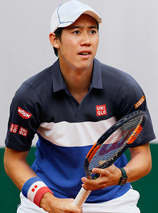 UNIQLO Kei Nishikori 2015 French Open Model
