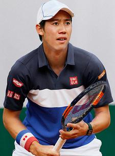 UNIQLO Kei Nishikori 2015 French Open Model