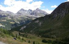 la Testa Grigia dall'Alpe Nana