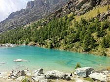 il Lago Blu