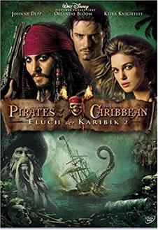 Platz 7: Der Fantasy und Action Film Fluch der Karibik 2