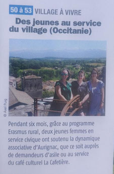 La Cafetière à l'honneur du numéro 149 de Village Magazine !
