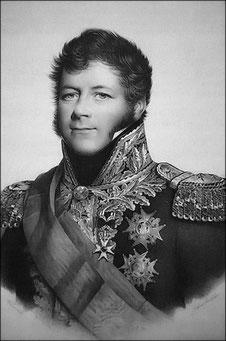 Général Maison, commandant la 16ème division d'infanterie