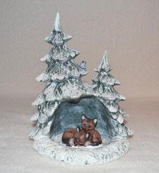 Keramikrohling Tannenbaum zum selbst bemalen