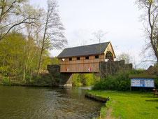 Hausbrücke Ahrensberg am Drewensee