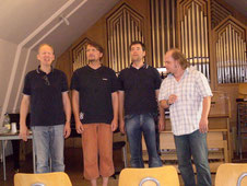 Meisterkurs beim SHMF bei den King's Singers