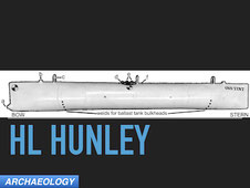 archaeology HL Hunley civil war submarine sinking
