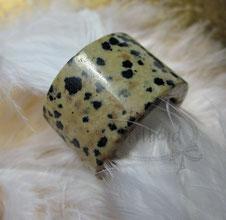 Fingerschmuck Dalmatiner Jaspis