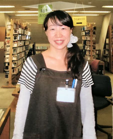 図書館で働いていた頃の写真