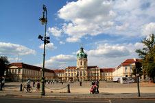Schloss Charlottenburg, Blick vom Süden. Foto: Helga Karl