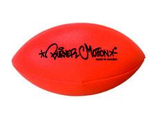 Ballon de rugby luorescent de marque Burner motion. Ballon de rugby mousse fluorescent pour les jeux sportifs de rugby en nocturne pour plus de visibilité. Balllon de rugby ou football Américain sécurisé à acheter pas cher.