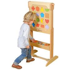 Élément mural les 16 couleurs magnétiques. Matériel pédagogiques pour apprendre la motricité aux enfants. Matériel à acheter pas cher du tout!