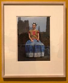Frida Kahlo  gefotografeerd door Nickolas Muray