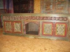 Oosterse meubelen door klant ontworpen