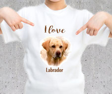 tshirt fille labrador