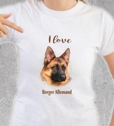 maillot chien berger allemand