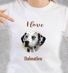 maillot chien dalmatien