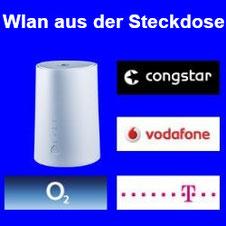 WLAN aus der Steckdose – LTE DSL Ersatz von Vodafone, Telekom, o2 und Congstar